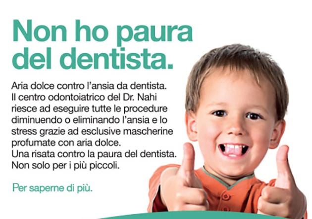 non ho paura del dentista