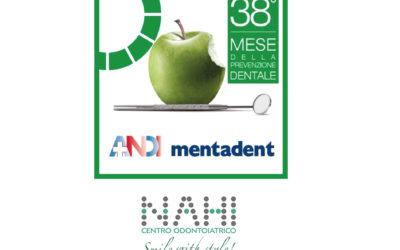 Il 38° mese della prevenzione dentale