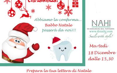 Natale 2018 – Porta la letterina a Babbo Natale!