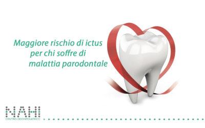 Maggiore rischio di ictus per chi soffre di malattia parodontale
